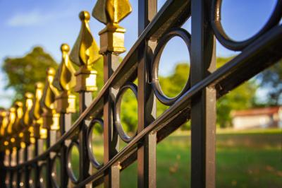 The Top Ornamental Fences Are Made Out of Metal deas for Decorative and Ornamental Fences