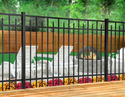 Ornamental Fence Qualities - Galvanized Steel, Wrought Iron and Aluminum